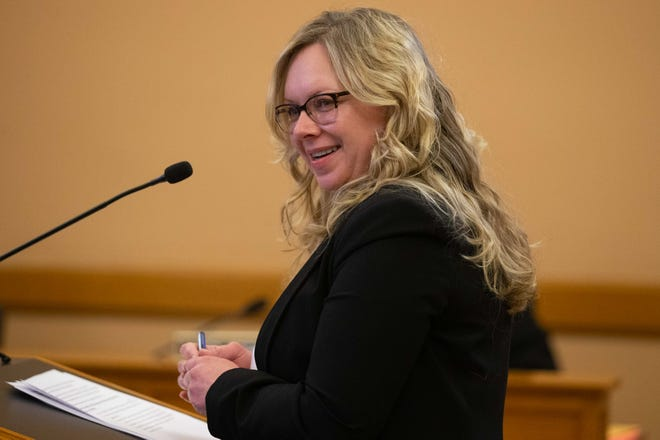 Amber Schultz was approved Tuesday as the permanent secretary of the Kansas Department of Labor by the Kansas Senate.