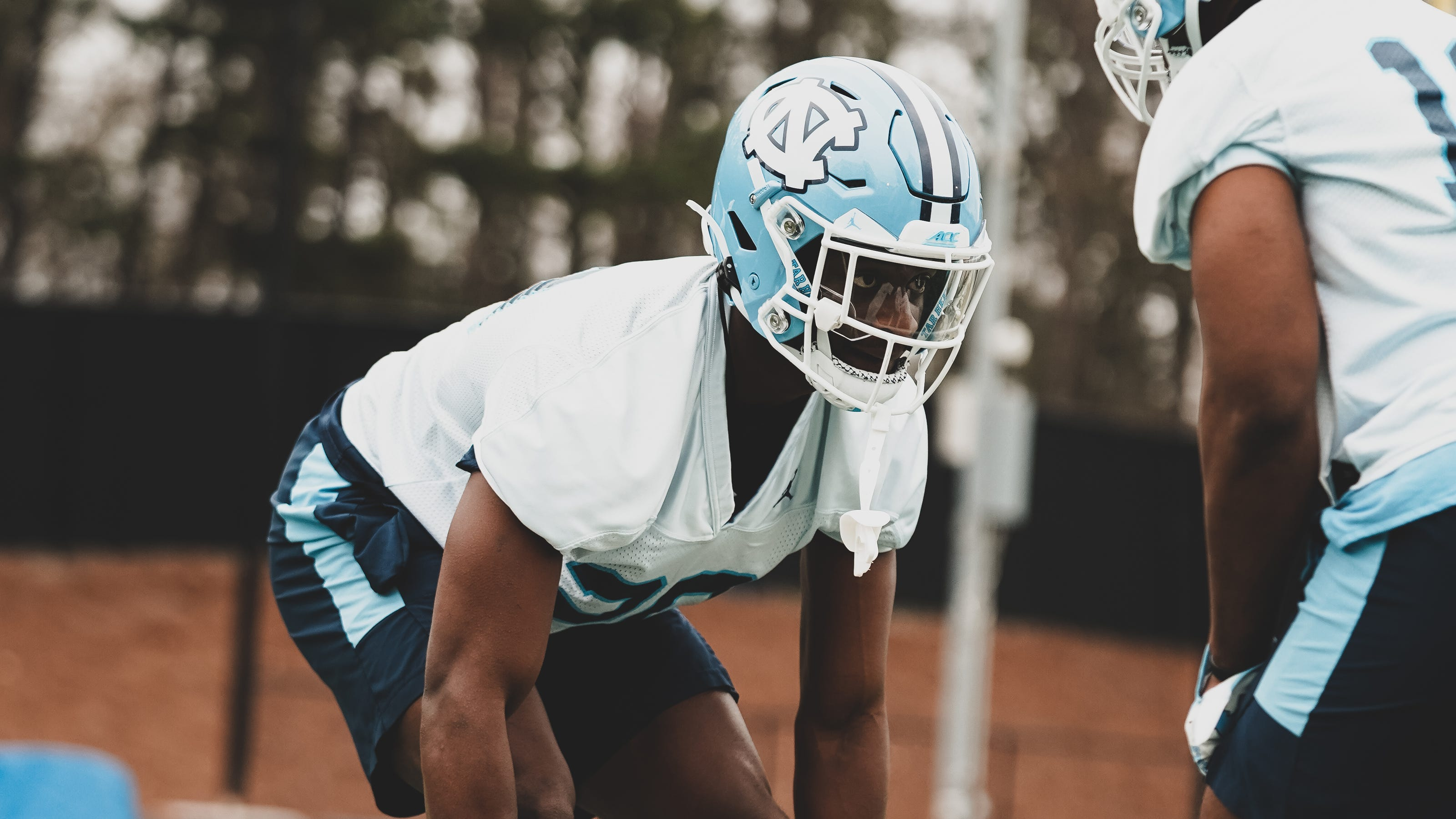 Cornerback Tony Grimes is standing out at UNC football spring practices. These sophomores are, too