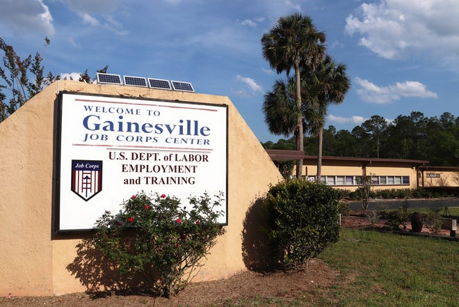 The Gainesville Job Corps Center is seen on Thursday. The site for years has had groundwater contamination that is being remediated through a Florida Department of Environmental Protection consent order. The city proposes to convince the federal government to allow the property to be turned back over to local government.