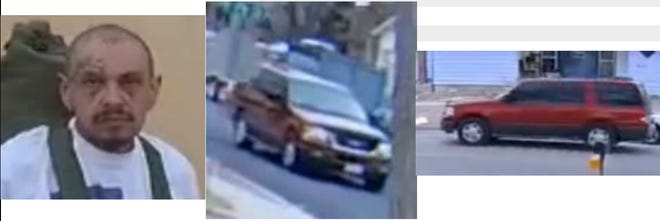 Information regarding this red SUV and man, identified as Richard Salazar, is requested by the Canon City Police Department as of Thursday, March 25.