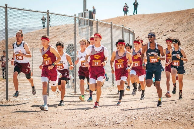 The Barstow boys cross country team won its third straight Desert Sky League title on Wednesday at Robert A. Sessions Memorial Sports Park.