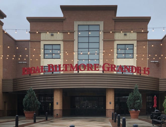 The Regal Biltmore Grande 15 cinema in Biltmore Park has been closed since March 2020.