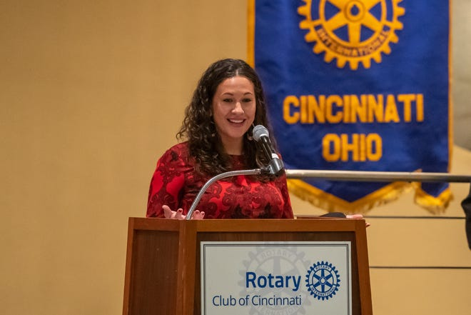 Katie Nzekwu, co-founder and CEO of Found Village, won the 2021 Jefferson Award from the Rotary Club of Cincinnati.