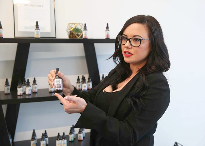 Lacie Navin, owner of Your CBD Store in Ankeny, has reopened her store after being arrested in 2019 by Ankeny police.