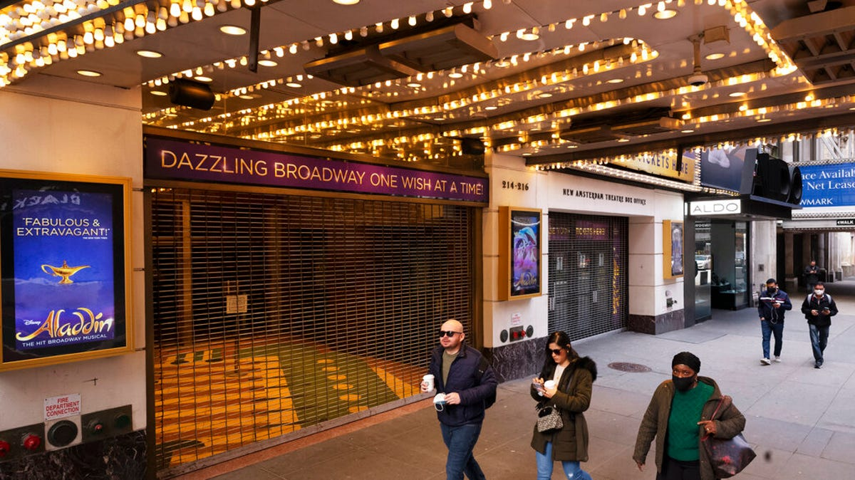 NYC planning for Broadway shows to reopen in September 1
