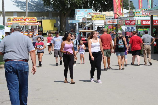 This year's Sandusky County Fair will feature midway rides, grandstand entertainment and Log Cabin Stage musical performers.