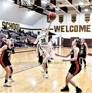 Berne Union senior Bella Kline is the 2021 Eagle-Gazette Girls Basketball Co-Player of the Year.