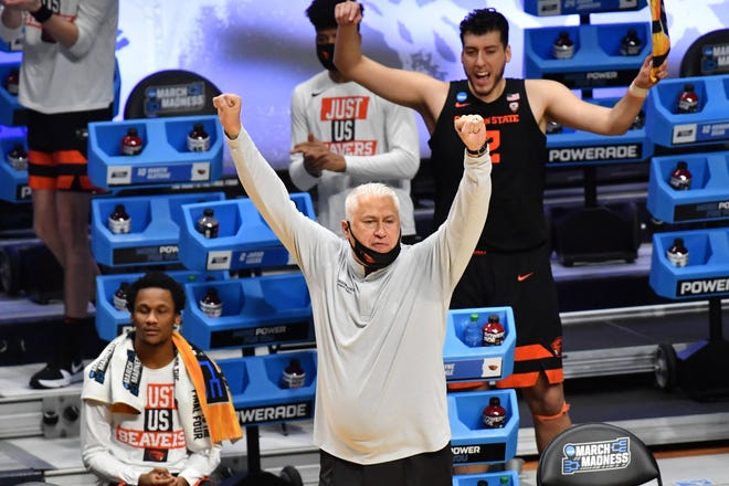 Milwaukee-born Oregon State head coach Wayne Tinkle has a 270-199 record in 15 years as a head coach, including seven in his current job.
