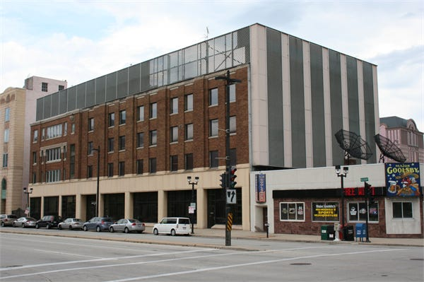 Downtown's former Milwaukee Sentinel building will be converted into a new location for Tenor High School.