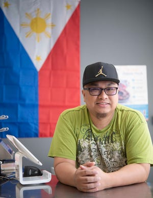 Chriss Goyenechea is one of the family members who owns and runs the Maemax Market and restaurant in La Vergne, Tenn., where they sell a variety of Filipino foods.