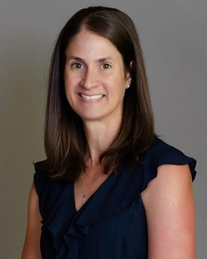 Christina Wombacher recently was promoted to Arizona State senior associate athletic director and senior women's administrator after 20 years in the athletic department.