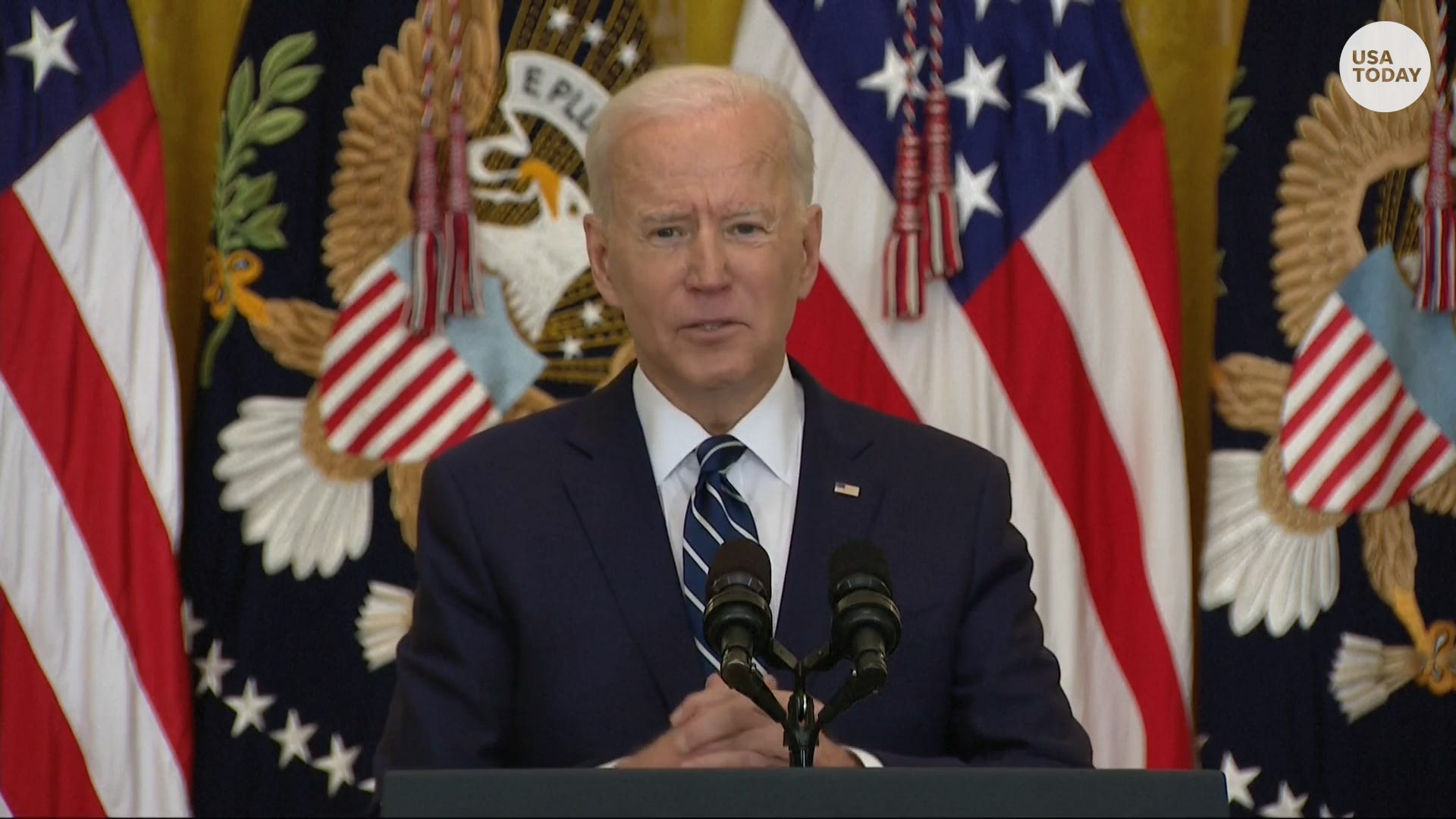 'It's being abused in a gigantic way': Biden wants return to Senate's old filibuster rules