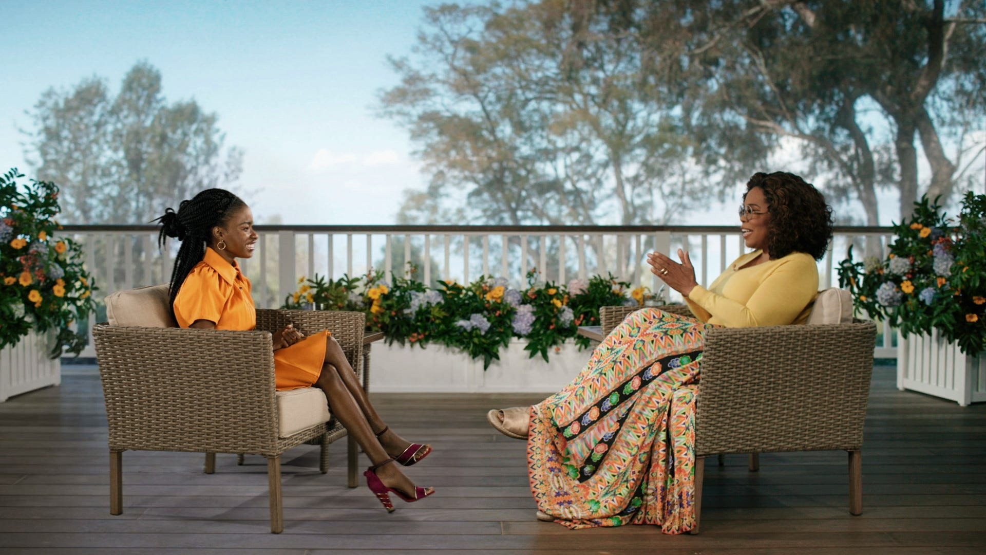 Amanda Gorman tells Oprah about her connection to Maya Angelou:  It was an amazing discovery
