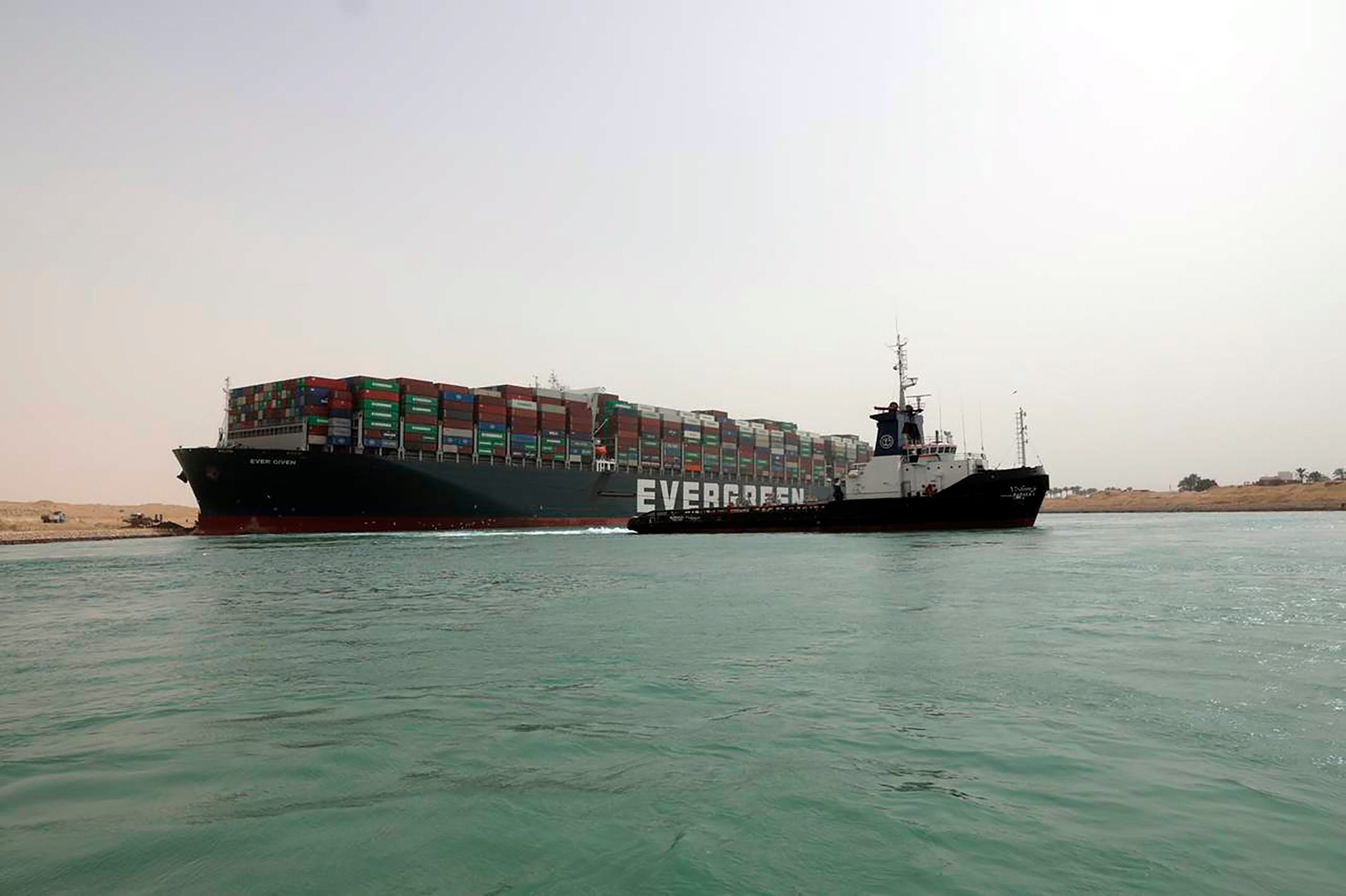 Day 3 and the Suez Canal remains blocked; at least 237 ships wait for canal to be cleared