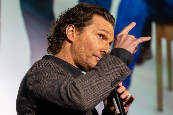 """Actor Matthew McConaughey will take part in a """"Dazed and Confused"""" reunion for Alamo Drafthouse."""