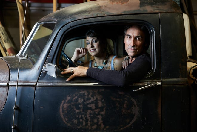 Mike and Danielle from The History Channel hit show American Pickers.
