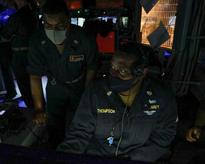 An Early Branch, S.C., native is deployed in the U.S. Navy.