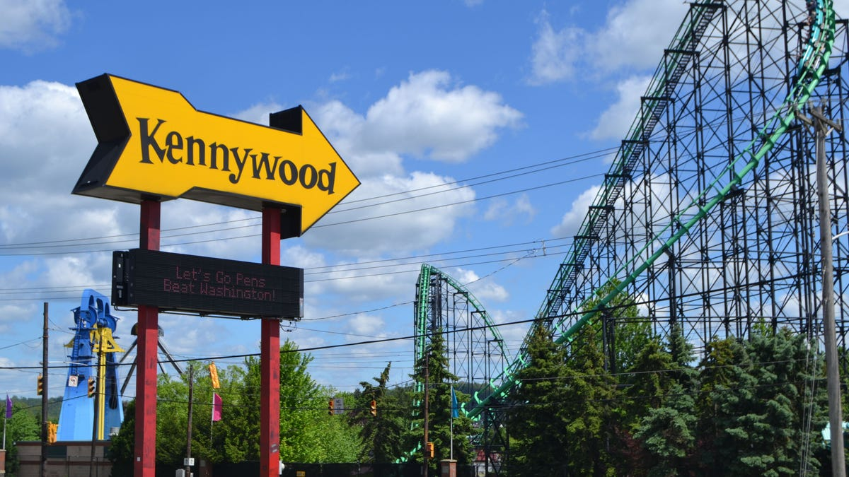 Kennywood's open in early May; Cedar Point a week later; Sandcastle for the holiday