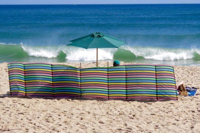 TRURO--A fine day at Ballston Beach in Truro.