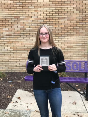 Ingersoll Middle School is proud to announce Jadyn Martin as the February recipient of the Steven R. Nagel Distinguished Student of the Month Award.