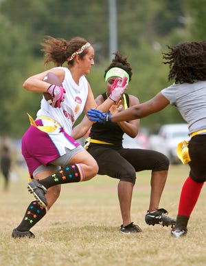In a step toward giving women even more opportunities to play football, the Charlotte-based National Junior College Athletic Association (NJCAA) has announced women's flag football as an emerging sport in a joint effort with the NFL and Reigning Champs Experience (RCX).