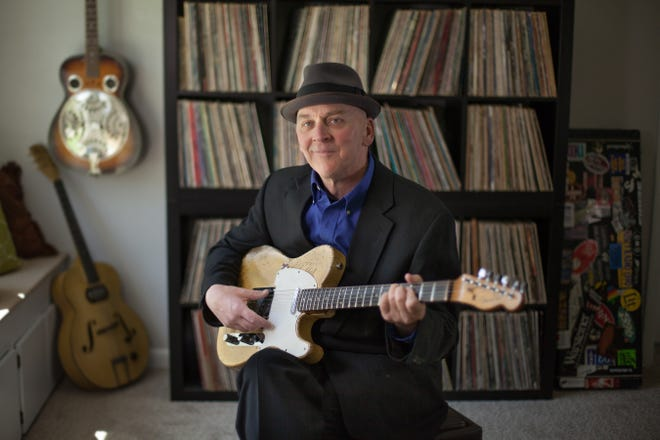 A release party for Mr Jimmy's new album, All Alone with the Blues, will be this Saturday at Blue Ghost Brewing Co. in Fletcher.