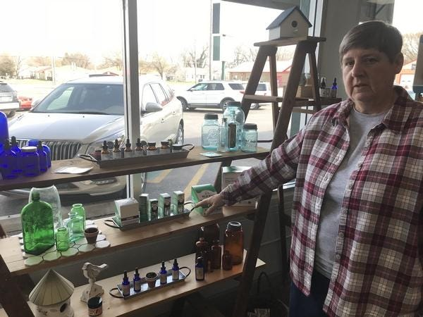 Sue Jones started her own business in March of 2019, Suz CBD Re-Leaf, located at 1027 Washington Road, the business was one of 23 area businesses to receive a COVID-19 relief grant this month.