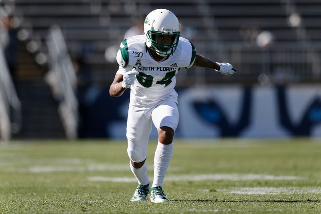 South Florida wide receiver Xavier Weaver is expected to be a playmaker for the Bulls as they enter their annual spring game on Saturday.