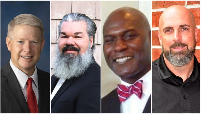 Four candidates are in the running to take over the term of former commissioner Scott Franklin, who resigned in January after being elected to represent U.S. House District 15.
