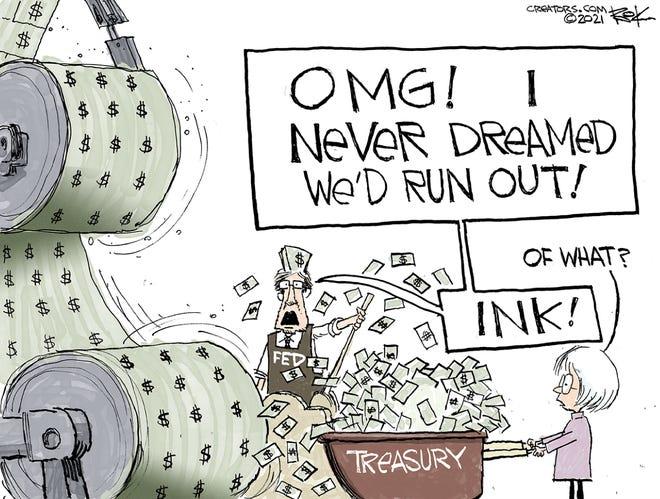 Today's editorial cartoon (March 28, 2021)