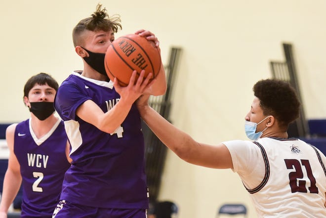 Utica Academy of Science hosted West Canada Valley in boys basketball on Thursday, March 25, 2021. WCV won 72-54.