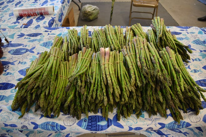 Fresh asparagus might be one of the many varieties of produce customers can buy at the Norman Farm Market.