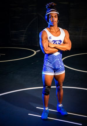 Belleview's Andrew Davis is this year's Ocala Star-Banner Wrestler of the Year. Davis had a record of 36-8 in the 138-pound weight class this season.