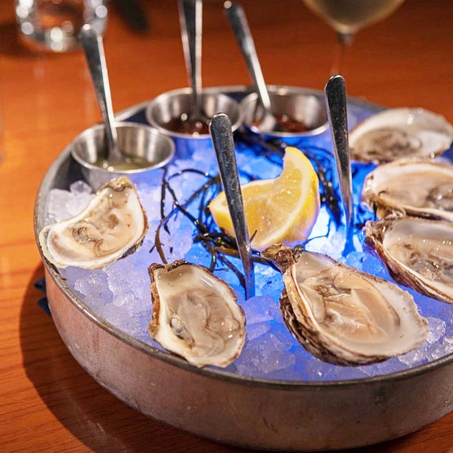 For years, fresh oysters from around the world have been among the specialties at PB Catch.