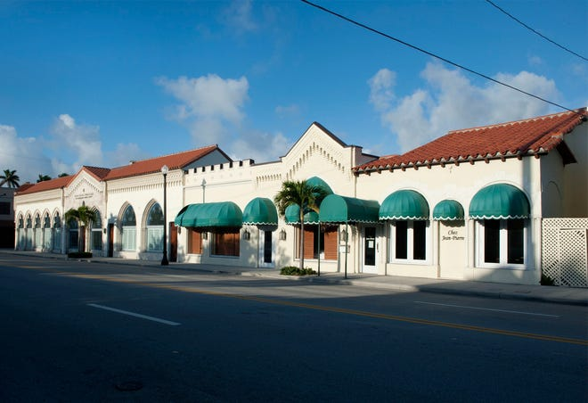 Palm Beach Synagogue has just expanded its holdings on North County Road by buying, for a recorded $7.15million, the adjacent building at 132 N. County Road that for years was home to Bistro Chez Jean-Pierre. The former restaurant building is at the far right.