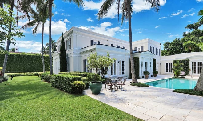 The house that just changed hands at 241 El Vedado Road in Palm Beach was designed for the late Listerine heiress Sue Whitmore in the 1930s.