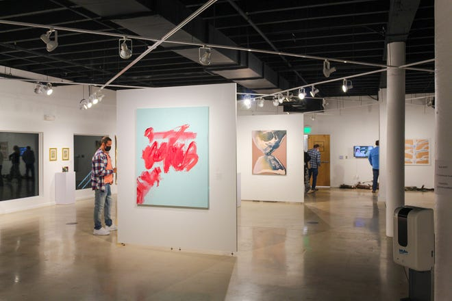 Visit Downtown Delray Beach's First First Art Walk tomorrow night, including a visit to Arts Warehouse (pictured here).