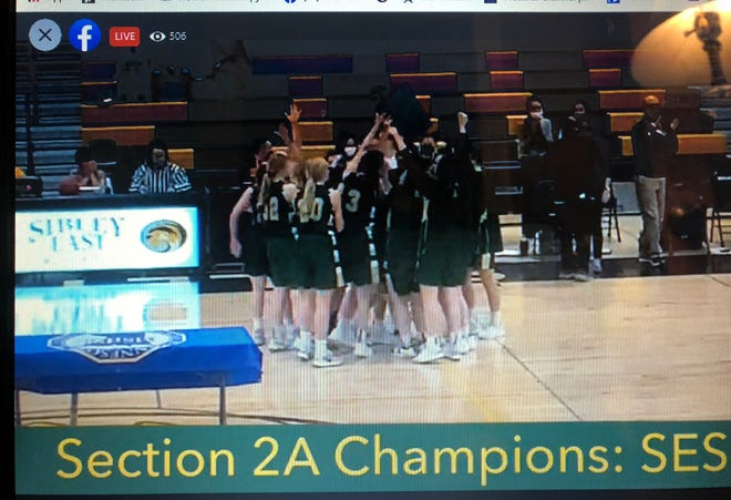 Thanks to host site Sibley East High School for streaming the Lady Knights' Section 2A Championship game on Facebook!