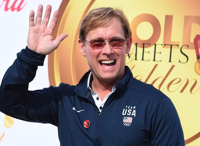 Olympic gold medal gymnast and Illinois native Bart Conner arrives at the 5th Annual Gold Meets Golden event on Jan. 6, 2018, in Los Angeles. Conner, 63, was born in Chicago on March 28, 1958.