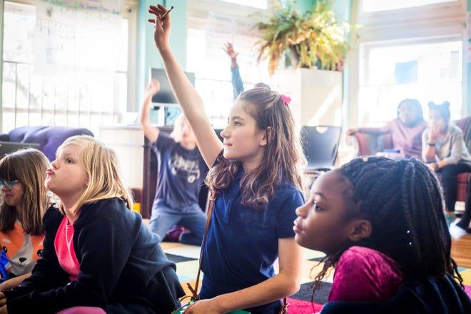 Students at Susie King Taylor Community School in Savannah, Ga.