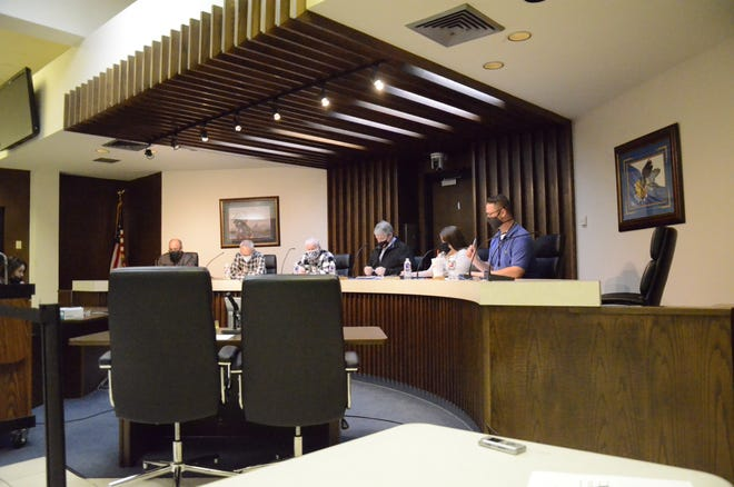The Shawnee Civic and Cultural Development Authority board gathered for a Special Call Meeting to discuss IFYR eligibility and to remove three names from its bank account.