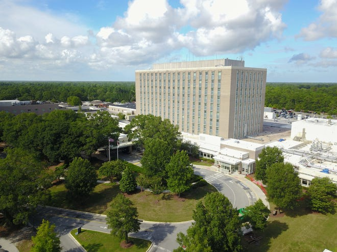 A surge in COVID-19 cases is putting a strain on New Hanover Regional Medical Center at a level not seen since early in the pandemic.