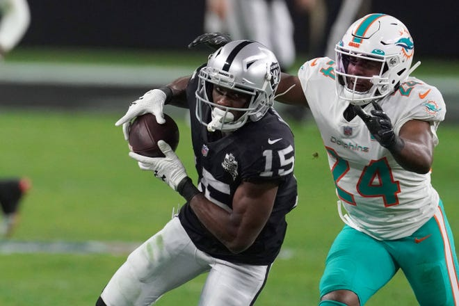 """""""I think the organization definitely had a plan when they put everybody together,"""" says Patriots wide receiver Nelson Agholor, formerly of the Raiders. """"We're going to work hard and figure it out."""""""