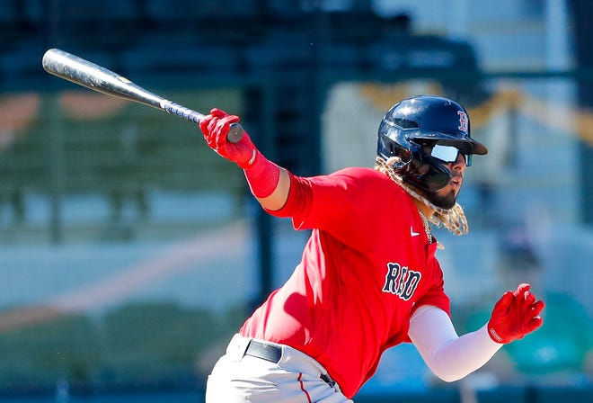 Jonathan Arauz, who spent last season with Boston, will begin the season with the Red Sox' alternate camp site in Worcester.