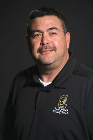 FTCC volleyball coach Moe Licardo