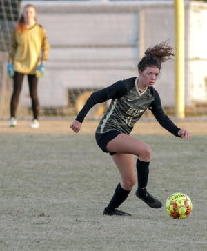 The county's top returning goal scorer, Gray's Creek senior Kylie Rock netted 30 goals in 2019 as an all-conference performer for the Bears.