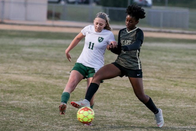 An all-conference performer for the Trojans in 2019, Pine Forest senior Kahala Bandmann (11) has her squad off to a 4-0 start in 2021.