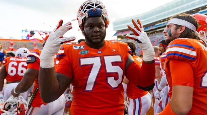 Offensive lineman T.J. Moore has decided to move on from UF.
