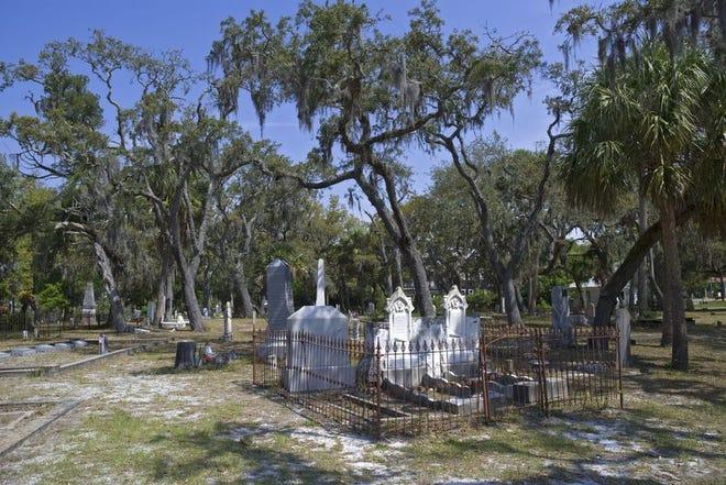 Historic Chestnut Cemetery in Apalachicola.