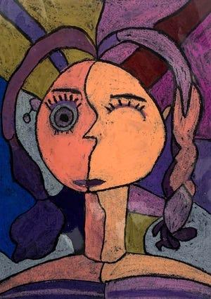 """Girls"" by Azalya Garcia, K-3rd grade entry."